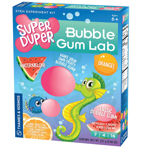 Super Duper Bubble Gum Lab (STEM)
