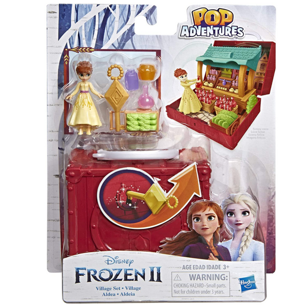 Frozen II: Anna Village Pop-Up Playset with Handle