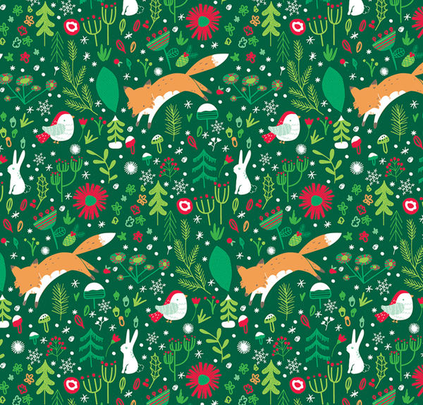 Wrapping Paper: Woodland Magic, Jumbo Roll