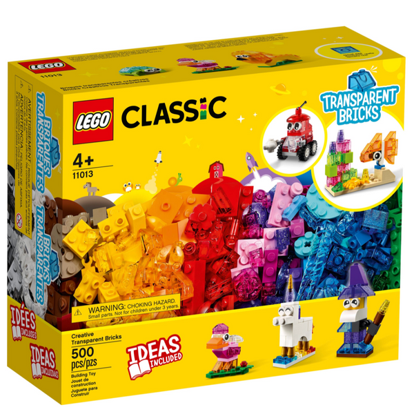 Lego Classic: Creative Transparent Bricks