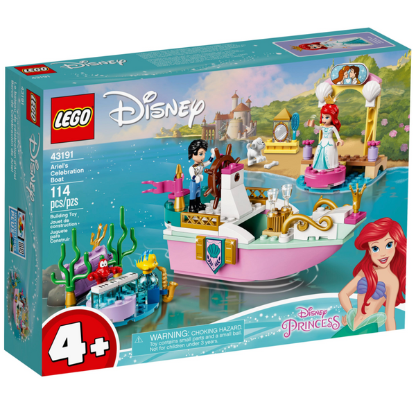 Lego Disney: Ariel's Celebration Boat