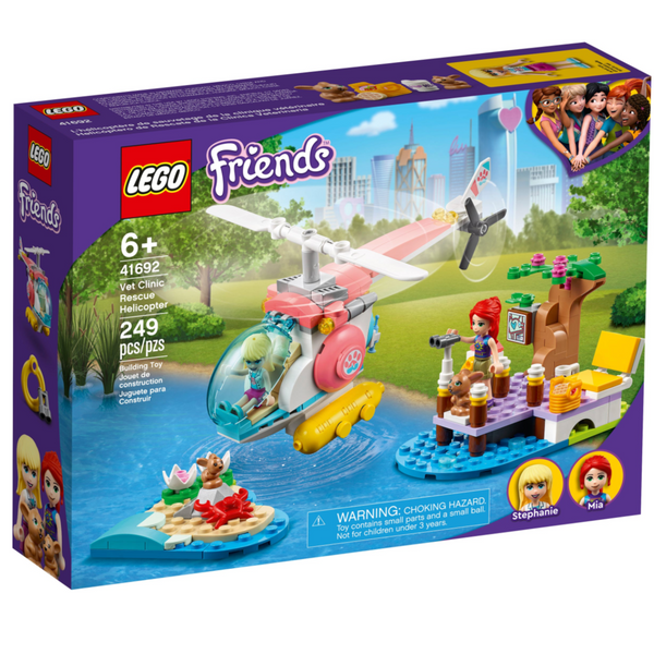 Lego Friends: Vet Clinic Rescue Helicopter
