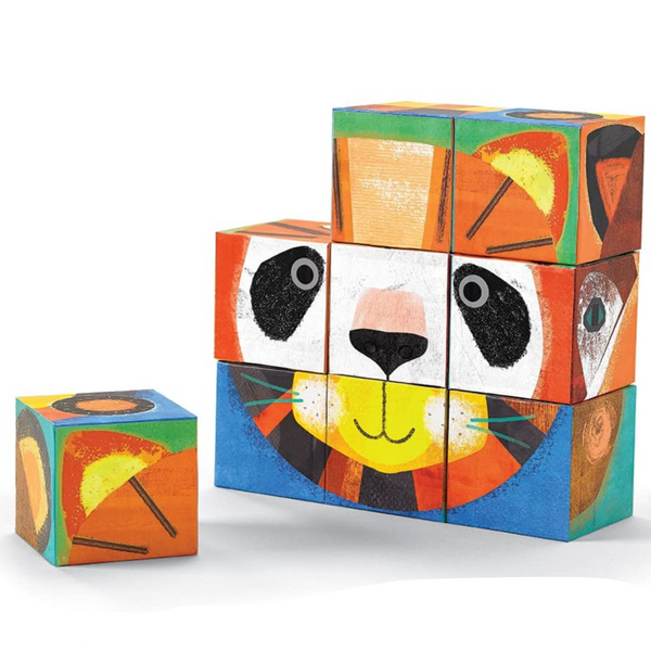 Make-A-Face Blocks: Animal Mix & Match