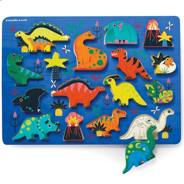 Dinosaur 16pc Chunky Wood Puzzle