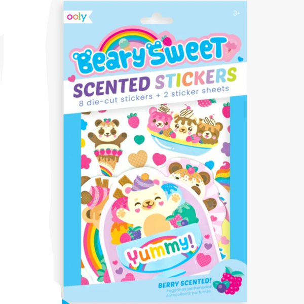 Scented Stickers: Beary Sweet