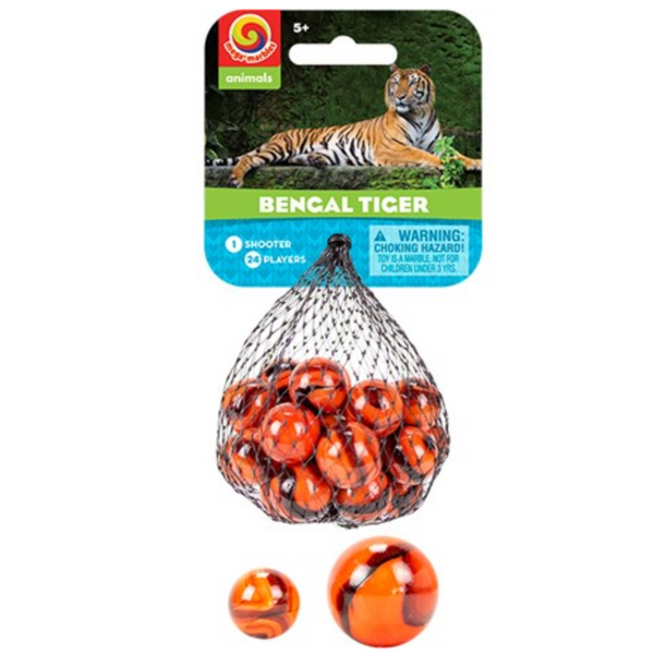 Bengal Tiger Marbles
