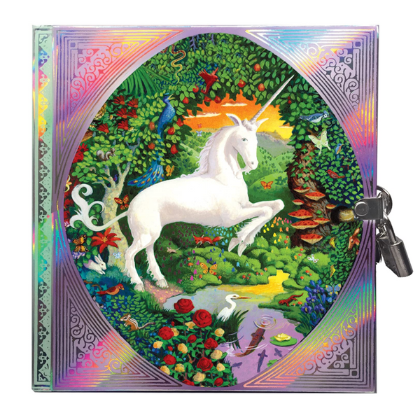 Unicorn Diary (with Lock)
