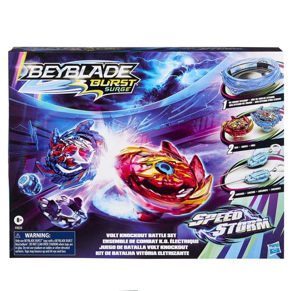 Beyblade Speestorm Battle Set (with Stadium)