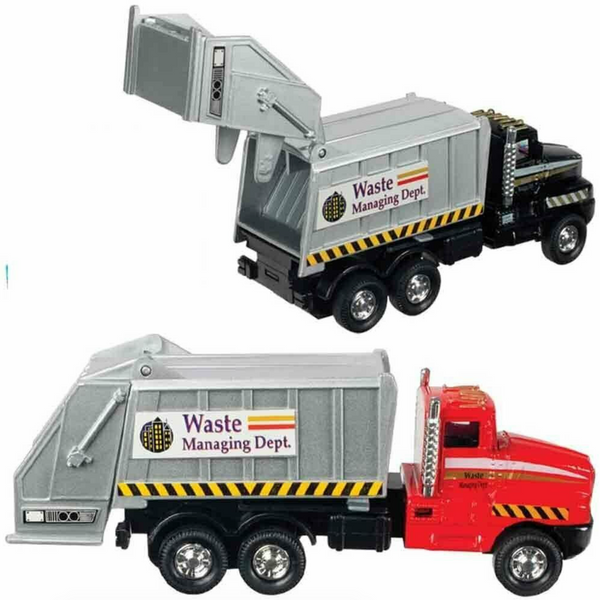 City Garbage Truck Die Cast