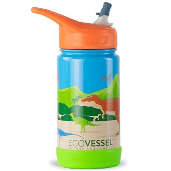 Frost: Insulated Dinosaur Water bottle (12oz)