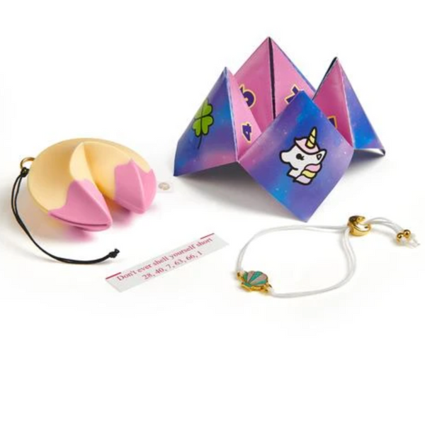 Fortune Cookie Bracelet and Keychain