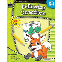 Following Directions: Grades K-1