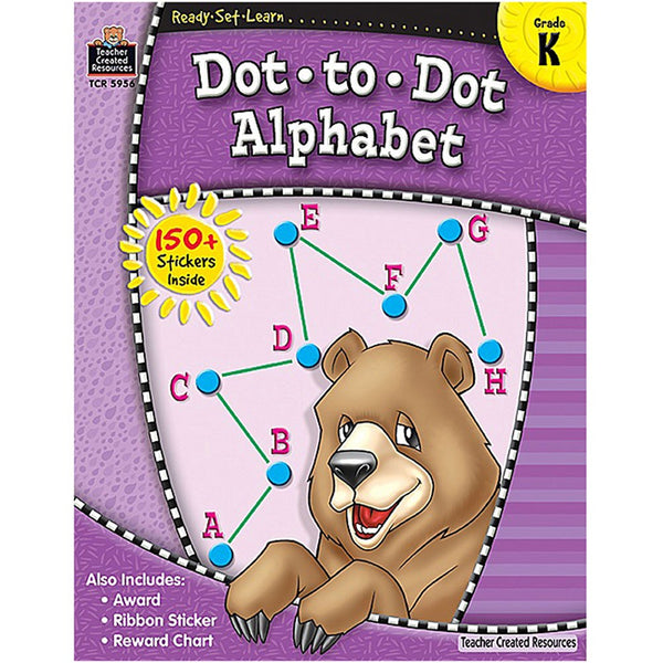 Dot-to-Dot Alphabet: Grade K