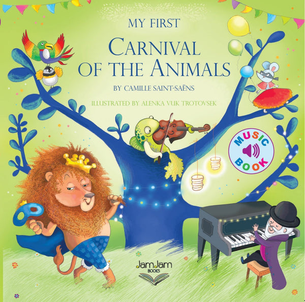 My First Carnival Of The Animals Music Book