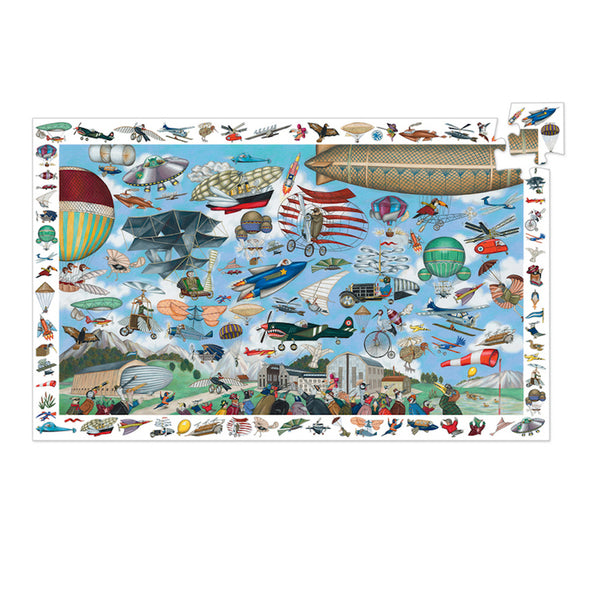 Aero Club Observation 200pc Puzzle (Observation & Poster)