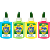 Washable Colored Glue (Multiple Colors)
