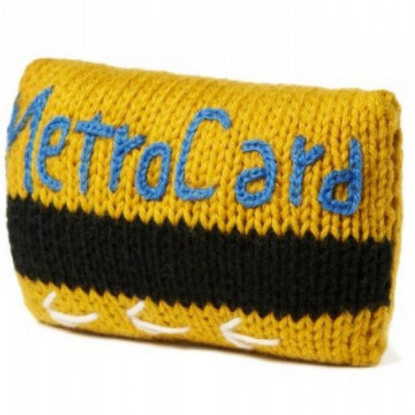 Knit Rattle: NYC Metrocard
