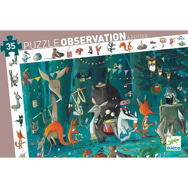 The Orchestra 35pc Observation Puzzle & Poster