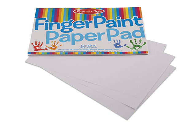 12x18 Finger Paint Paper Pad