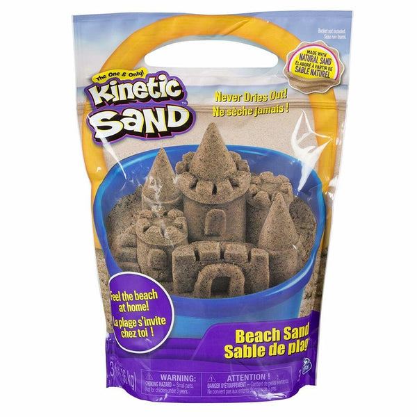 Kinetic Sand Bag 3lb, Brown