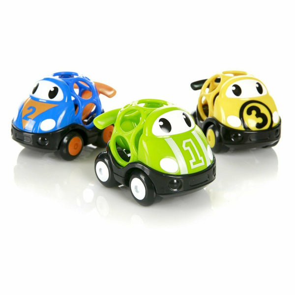 Oball Go Grippers Vehicle Race Car (Set of 3)