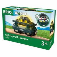 Light Up Gold Wagon Train