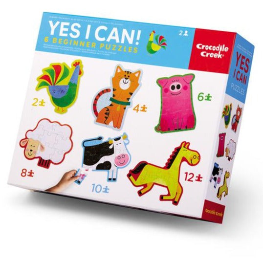 Yes I Can! Barnyard Progression Puzzles (with 6 Different Puzzles)