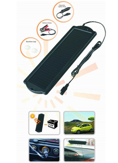 1 5w Solar Trickle Charger For Small Size Vehicles Afp Power