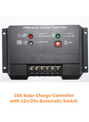 10A Solar Charge Controller for 12v or 24v Batteries