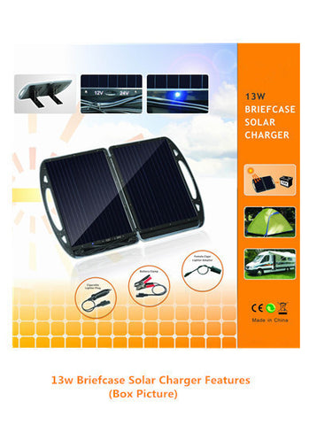 13w Foldable Solar Charger