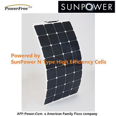 Semi-Flexible Bendable 30w 50w 60w 100w Watt Solar Panel 12v Battery