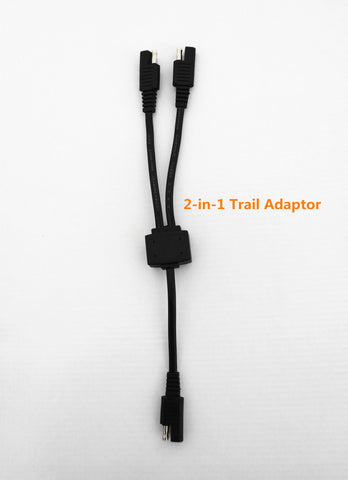 2-in-1 Trail Adaptor with SAE Connectors