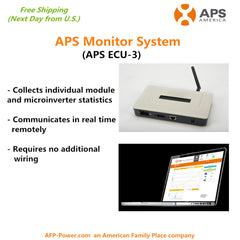 APS Solar Microinverter Monitor System ECU-3