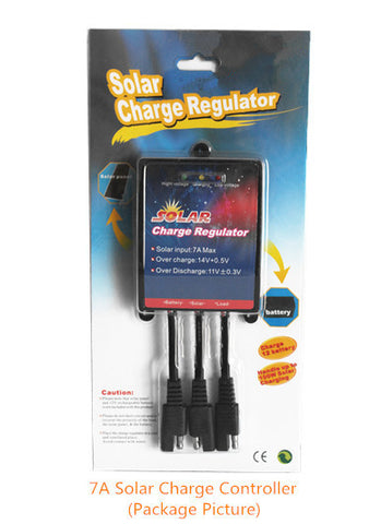 7am Solar Charge Controller for 12-volt Battery