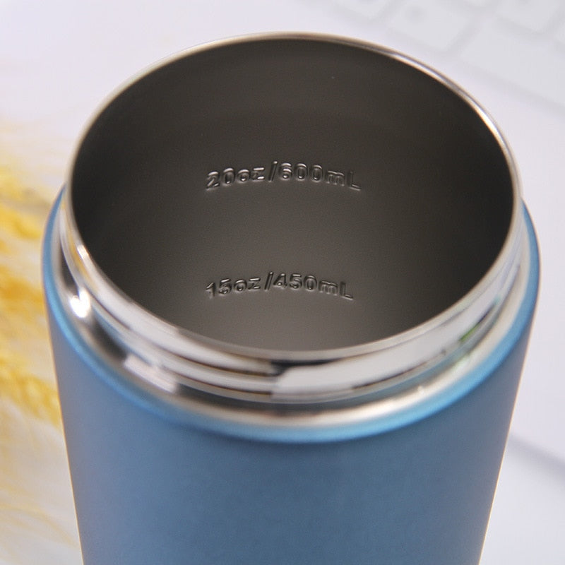 Elite Stainless Steel Protein Shaker Bottle