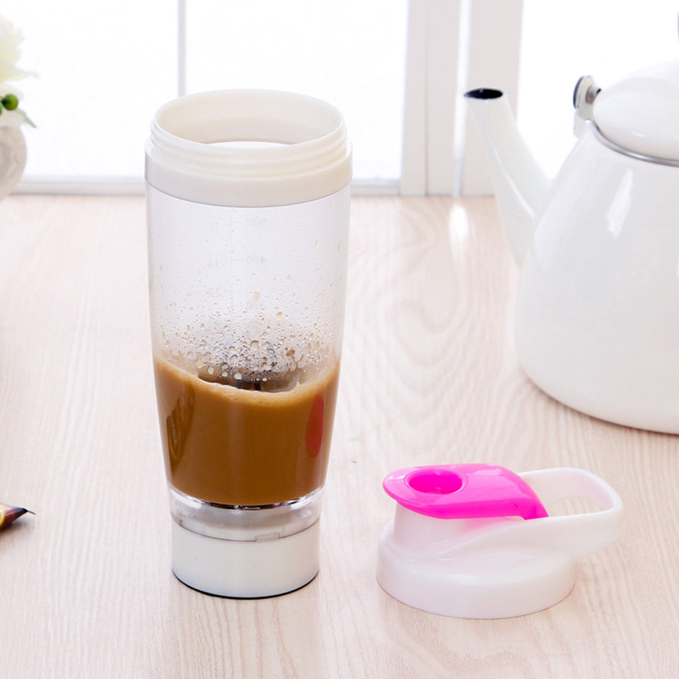 Electric Automatic Protein Shaker Bottle