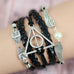 Black Deathly Hallows Bracelet - Florence Scovel - 2