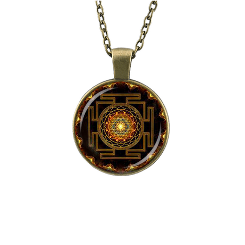 Sri Yantra Pendant Necklace - Florence Scovel - 1