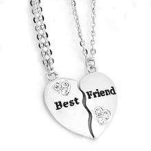 Best Friend Pendant Necklace