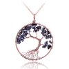 Wisdom Tree Quartz Pendant Necklace - Florence Scovel - 4