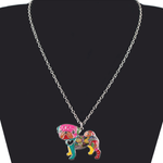 Pug Dog Pendant Necklace - Florence Scovel - 2