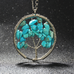 Wisdom Tree Quartz Pendant Necklace - Florence Scovel - 2