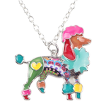 Poodle Dog Pendant Necklace - Florence Scovel - 1