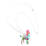 Poodle Dog Pendant Necklace - Florence Scovel - 3