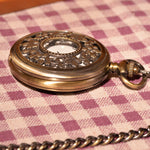 Gold Forest Half Hunter Pocket Watch - Florence Scovel - 3