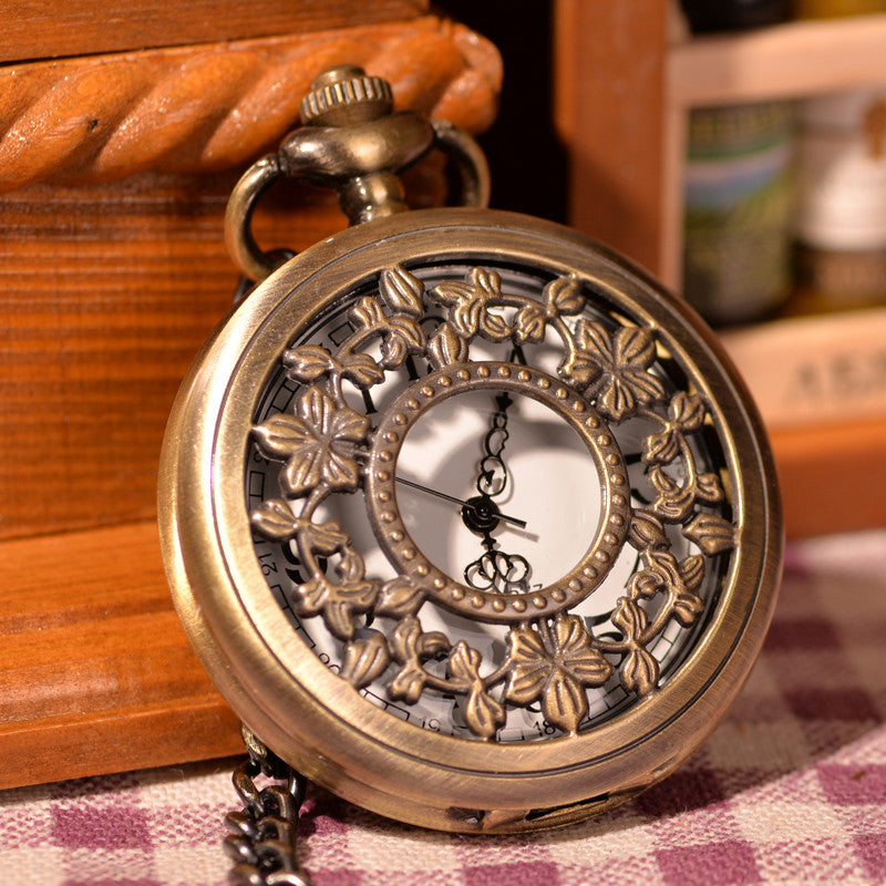 Gold Forest Half Hunter Pocket Watch - Florence Scovel - 1
