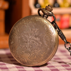 Gold Forest Half Hunter Pocket Watch - Florence Scovel - 4