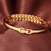 18K Yellow Gold Plated Bracelet - Florence Scovel - 3
