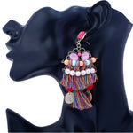 Bohemian Long Tribal Earring