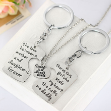Daddy's Girl Mommy's World Necklace